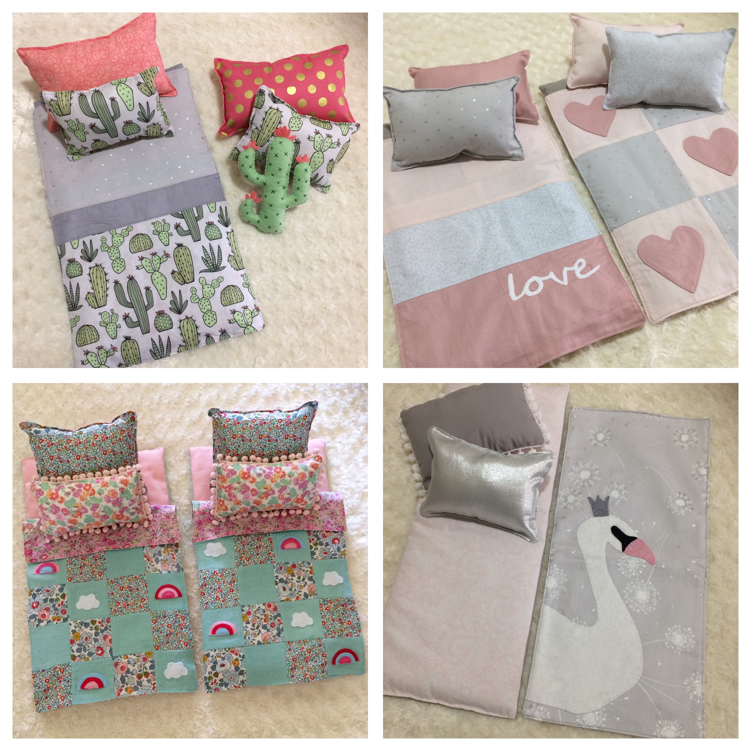 Doll's Custom Bedding Sets