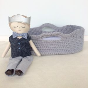 Doll's Moses Basket
