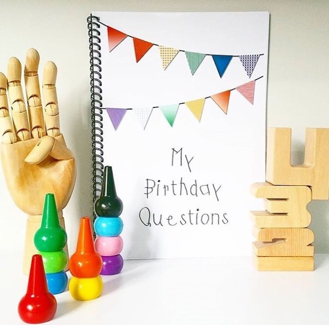 Birthday Question Books