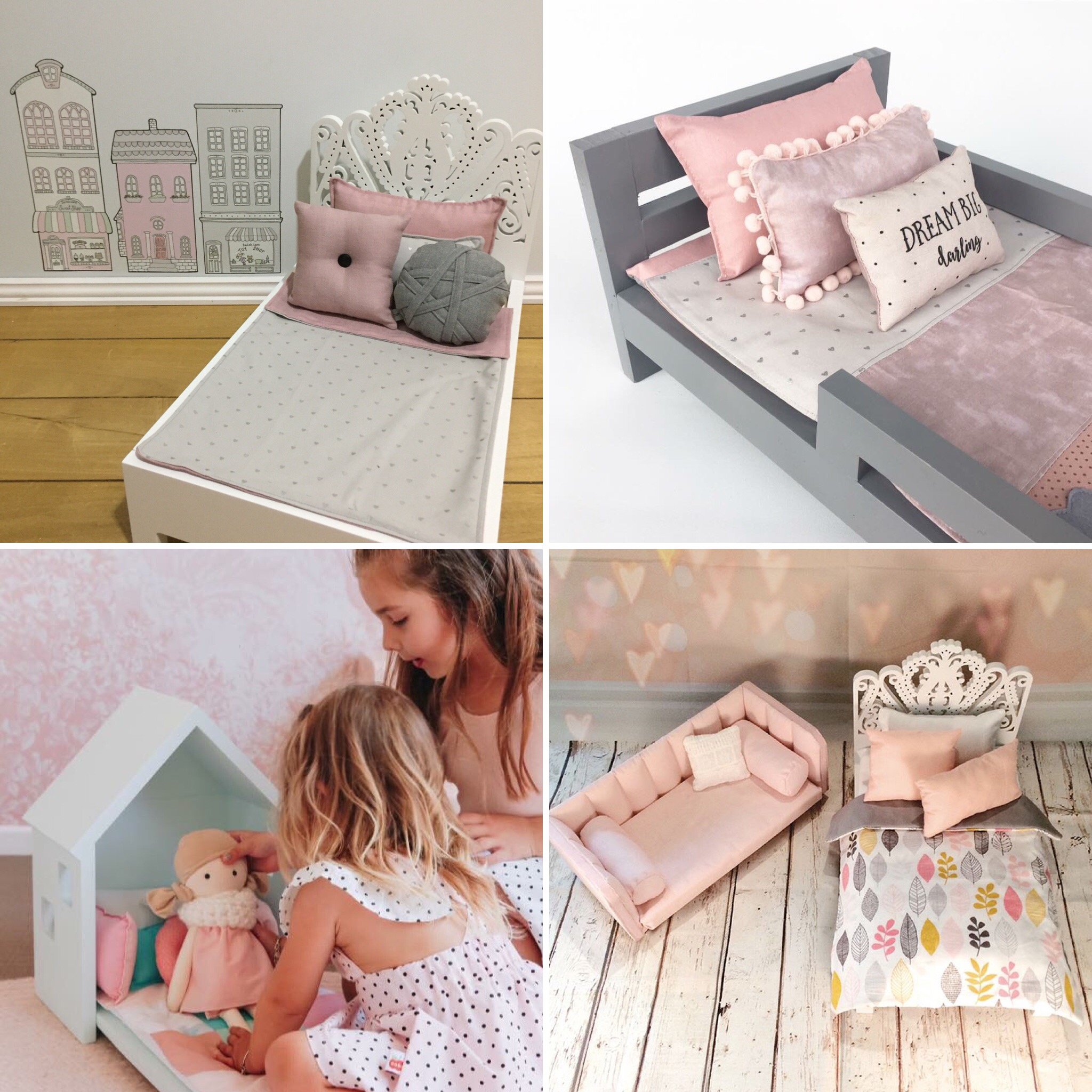 Doll's Single Bed Sets